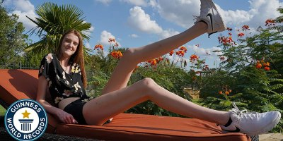 This Texas Teen Has the Longest Legs in theWorld