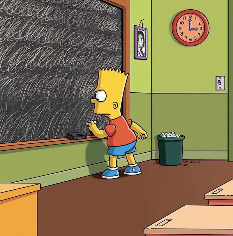 simpsons fine art photoshops 8 An Introduction to Fine Art Through Funny Simpsons Mashups