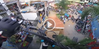 This First-Person View Down the World's Longest Urban Downhill Bike Race isINTENSE